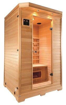 Sauna Infrared Infrarotkabine Infrarotsauna Wärmetherapie