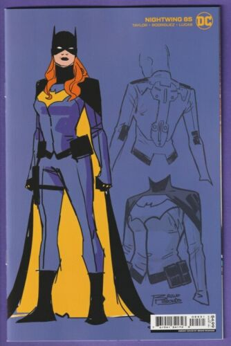 Nightwing #85 1:25 Redondo Batgirl Variant Cover Comic DC 2021 Actual Scans!