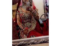 Designer bridal lengha