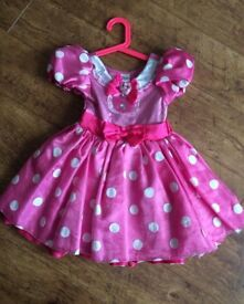Disney store Minnie Mouse dress Age 4