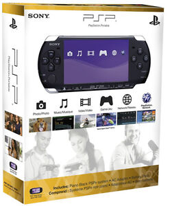 New Sony Playstation Portable PSP 3000 Handheld Video - 4 FREE GAME IN THE BOX