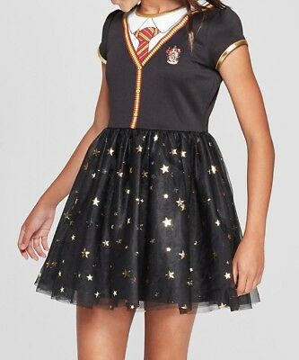Harry Potter Hermione Granger Gryffindor Dress Costume Dress Cosplay Size M - Hermione Granger Costumes