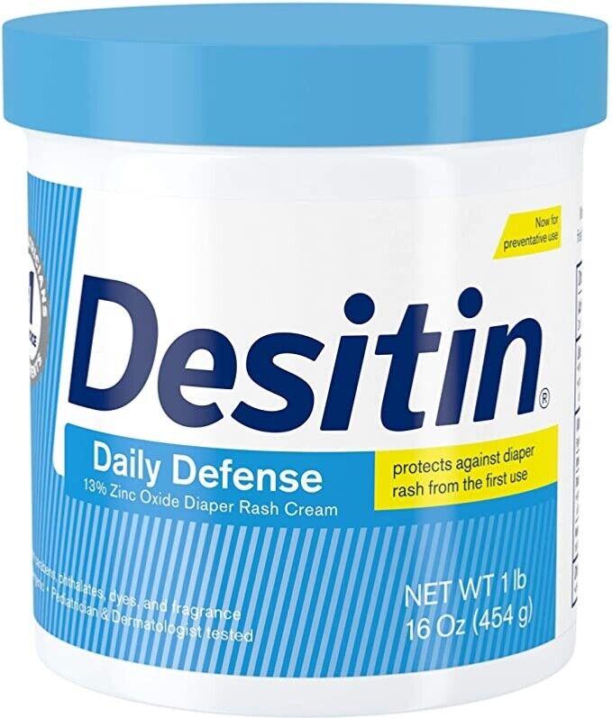 16oz Desitin Daily Defense Baby Diaper Rash Cream with Zinc: Free shipping