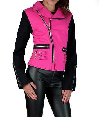 Tripp NYC D-Ring Moto Pink Black Punk Rockabilly Ska Gothic Biker Rocker BD3242 Clothing, Shoes & Accessories