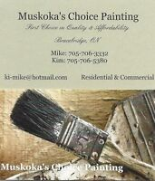MUSKOKA'S CHOICE PAINTING