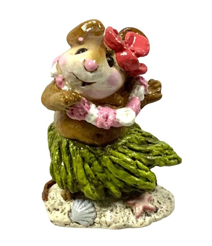 Wee Forest Folk Aloha M-158 Includes Box Retired In 1994