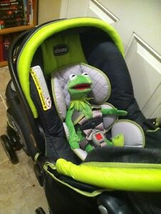 Almost brand new car seat and stroller
