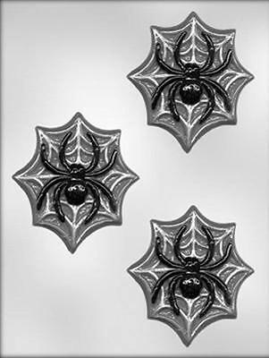Halloween Chocolate Spiders (Spider on Web Halloween Chocolate Candy Mold from CK #3621 -)