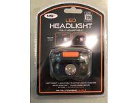 LED Headlight (White & Red Lights)