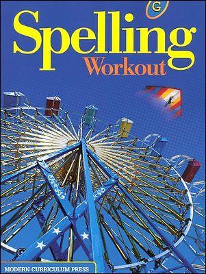 Grade 7 MCP Spelling Workout Level G Student Book 7th Modern Curriculum Press