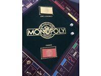 Franklin Mint Monopoly Collectors Edition 1991
