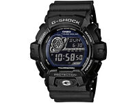 Casio G Shock Solar Powered Watch GR-8900 - like new