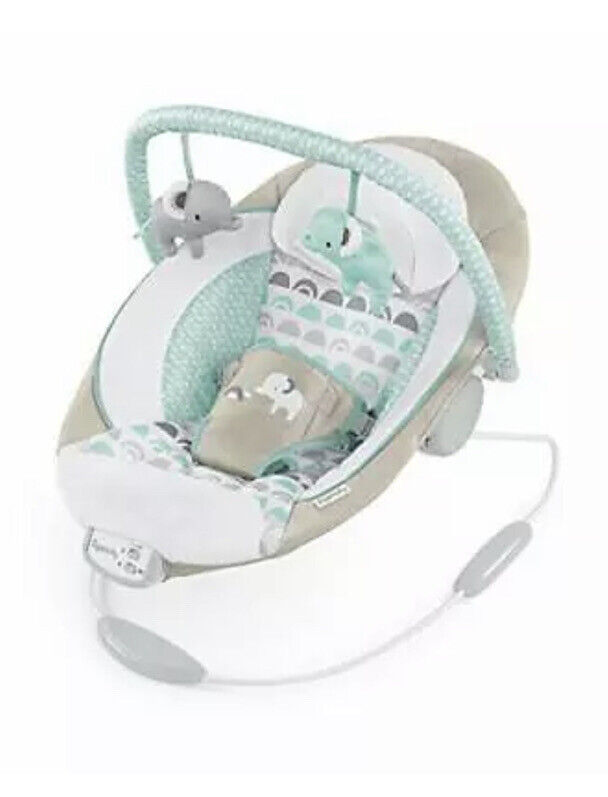 Ingenuity Cradling Bouncer Seat with Vibration & Melodies - Whitaker Crib Cradle