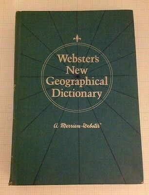 Websters New Geographical Dictionary   1977   A Merriam Webster