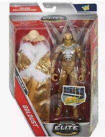 wwe goldust elite figure new very rare