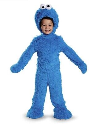 Cookie Monster Extra Deluxe Plush Infant/Toddler Costume - Infant Cookie Monster Costume