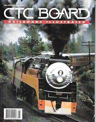 Ctc Board  283 May 2002 Canadian Pacific Hudson Steam Photos Santa Fe 3751 Class