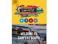 Carfest south tickets. 3 x children 6 - 9 year olds