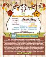 Moncton Crafter's Fair Saturday October 24th