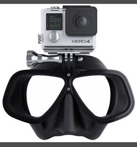 Scuba or snorkelling mask for GoPro