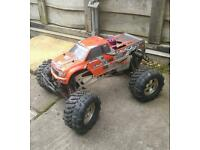 Hpi savage 25 4x4 monster radio controll car