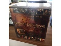 Middle Earth 30 Disk Collectors Edition of The Hobbit & The Lord of the Rings Trilogy's