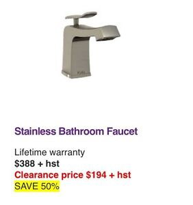 Kaila stainless faucet