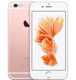 New iPhone 6s Rose gold (unlocked and boxed)
