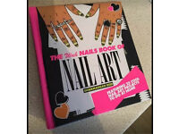 The Wah Nails Book Of Nail Art. Very good condition. (Can post)