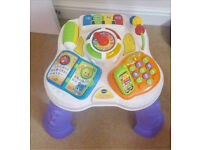 V Tech Learning Activity Table