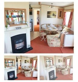 Static caravan for sale 3 bed room payment options available 12 month season 4⭐️park