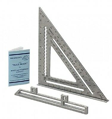 Swanson Tool SO107 12-Inch Speed Square, New, Free Shipping