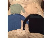 Men's Small Smart Jumpers x4 - BRAND NEW