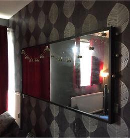 Large Black Ikea Mirror