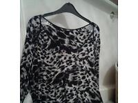 M and S ladies top