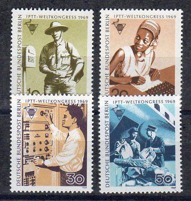 BERLIN 1969 MI NR 342 345 POSTFRISCH WELTKONGRESS IPTT