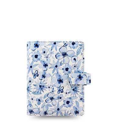 Filofax Patterns Organizer Indigo Floral - Pocket - 027043 - 2018 Diary