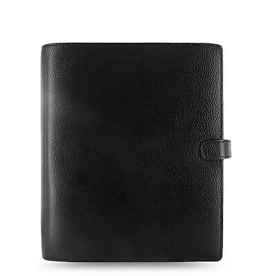 Filofax A5 Finsbury Leather Organizer Black Leather- 025368