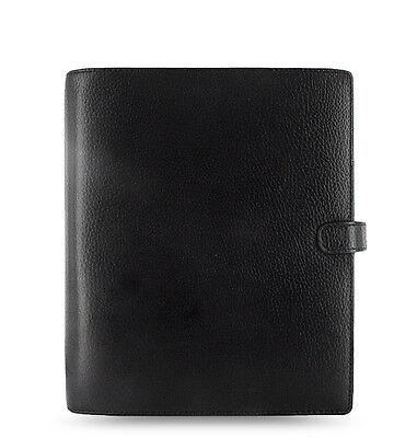 Filofax A5 Finsbury Leather Organizer Black Leather- 025368