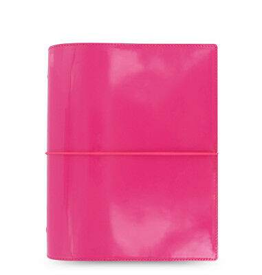 Filofax Domino Organizer Patent Pink- A5 - 022482
