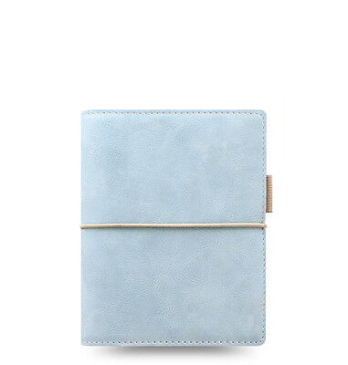 Filofax Domino Soft Organizer Pale Blue - Pocket Size - New - 022582