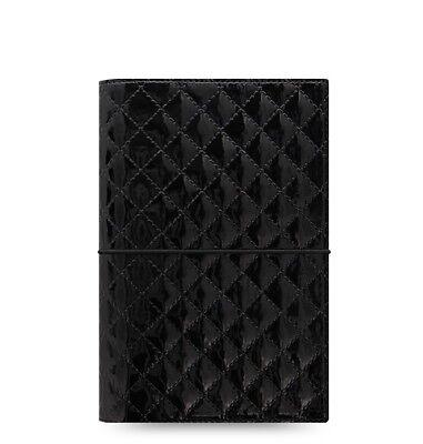 Filofax Domino Luxe Personal Organizer Black - 027995