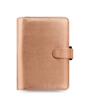 Filofax Personal Size Saffiano Organizer Rose Gold- Special Edition - 022573