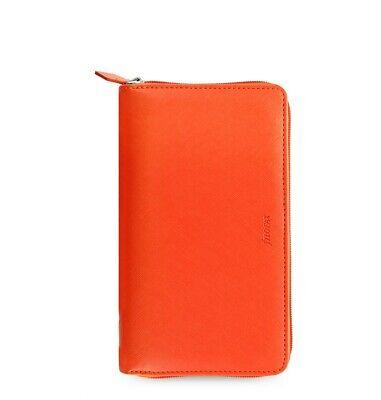 Filofax Saffiano Personal Compact Zip Organizer Bright Orange 2020 - 022591