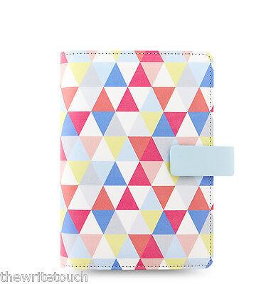 Filofax Personal Size Geometric Organiser Planner - 2020 Diary - 027039