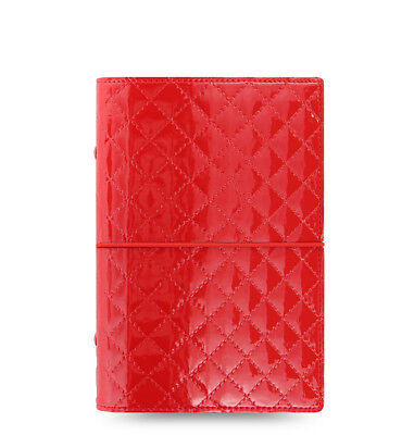 Filofax Domino Luxe Personal Organizer Red - 027988