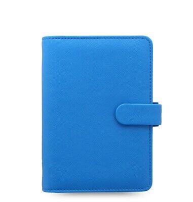 Filofax Saffiano Fluoro Personal Organizer Blue - 028766 - Brand New Item