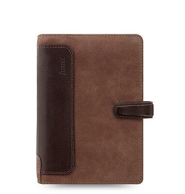 Filofax Holborn Nubuck Organizerplanner Personal Size Brown Leather - 026040