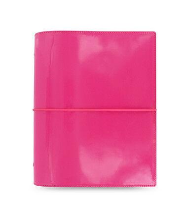 Filofax Domino Organizer Patent Pink- Personal - 2018 Diary - 022481