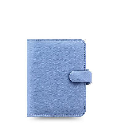 Filofax Saffiano Organizer Vista Blue - Pocket - 022594 - 2018 Diary